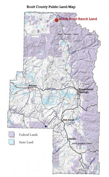 North Routt Ranch Land for Sale