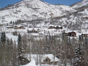 Steamboat Springs luxury homes in the Sanctuary