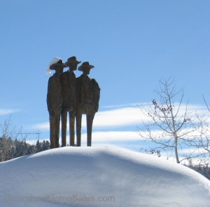The Sanctuary in Steamboat Statues