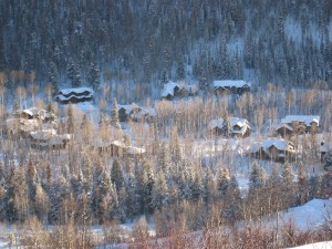 The Sanctuary in Steamboat Springs luxury golf course homes