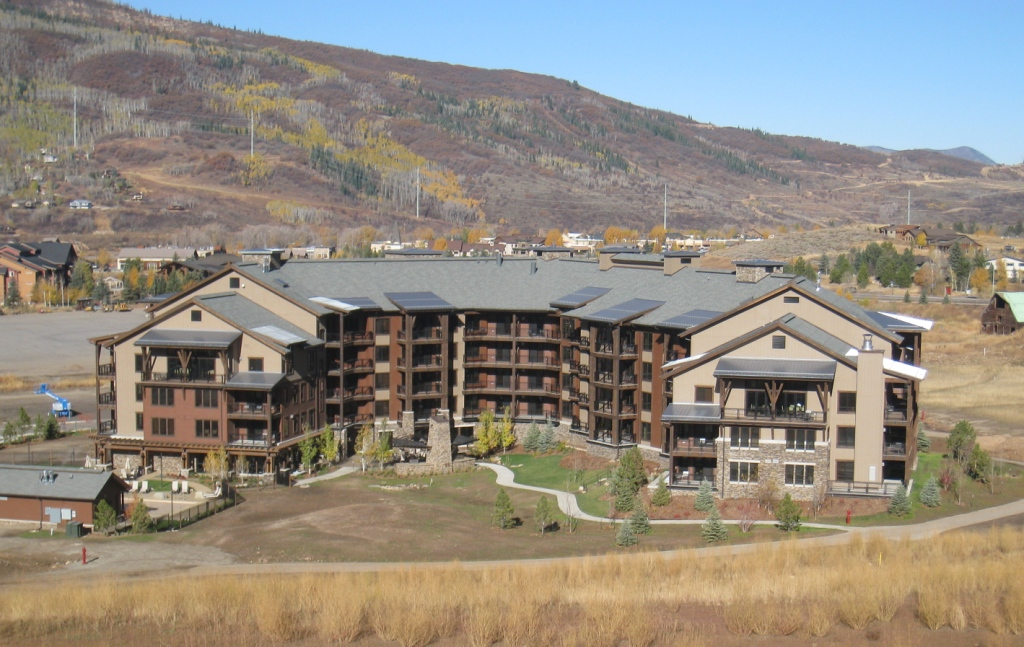 Trailhead Lodge at Wildhorse, October 2009