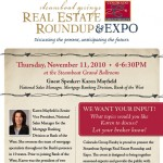 Please Come to the Colorado Group Real Estate Roundup on Thursday