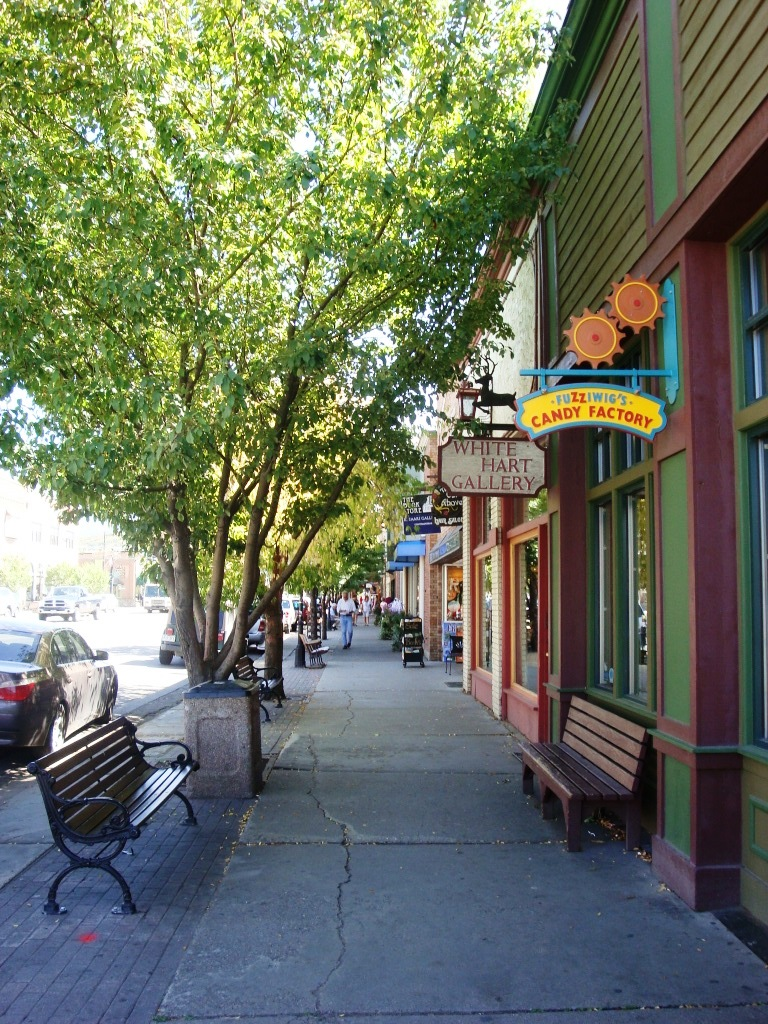 Lincoln Ave in Steamboat Springs